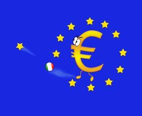 Italia y el euro.