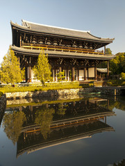 Sanmon Gate the National Treasure