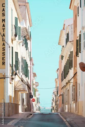 Streets of Mahon - Hiszpania - Minorka