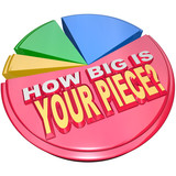 How Big is Your Piece Pie Chart Market Chare