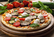Vegetarian Pizza - Pizza vegetariana