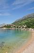Strand von Brela an der Makarska Riviera