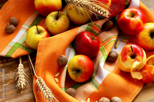 Assortment of Autumn Apples