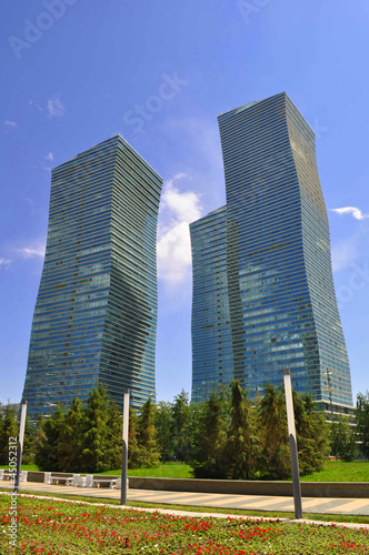 Astana, Twin towers