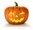 Leinwandbild Motiv Halloween Pumpkin