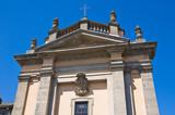 Church of St. Antonio Abate. Bagnaia. Lazio. Italy. poster