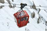 Fototapete Berg - Höhenlage - Seilbahnen