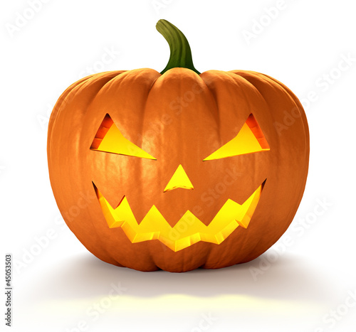 canvas print picture Halloween Pumpkin