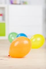 luftballons im kinderzimmer