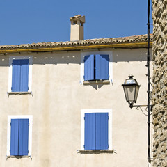 House in French Village. Provence. France.