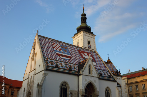 Saint Mark's Church in Zagreb, Croatia