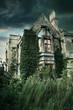 abandonded derelict building