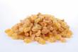 isolated raisin