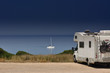 Camper van on the beach - 45059942