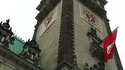 Hamburg Germany City Hall Rathaus