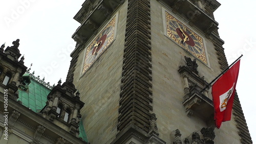 Hamburg Germany City Hall Rathaus