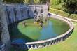 Leinwanddruck Bild - Villa Lante. Bagnaia. Lazio. Italy.