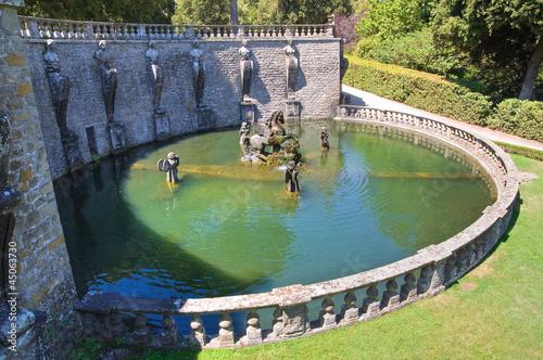 Leinwanddruck Bild Villa Lante. Bagnaia. Lazio. Italy.