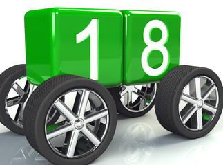 Führerschein  mit 18