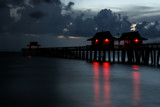 Naples Pier at Night