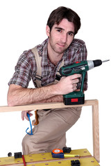 A casual carpenter.