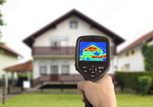Thermal Image of the House - 45068512