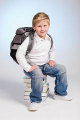 first grader boy