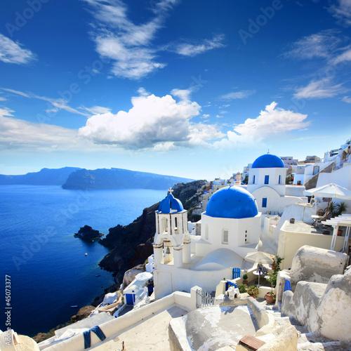 Obraz na Szkle Grèce - Santorin (Oia village)