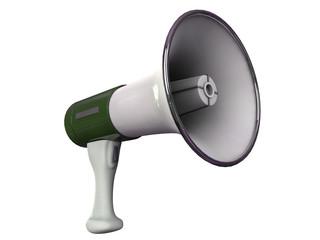 megaphone isolated on white background