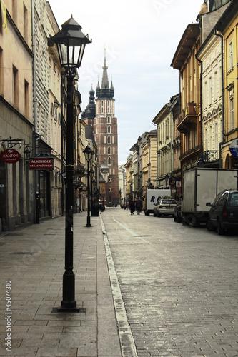 Plakat Kraków_ulica