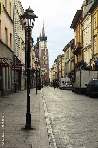 mata magnetyczna Kraków_ulica