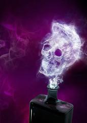 Ghost in a poison bottle, Illustration