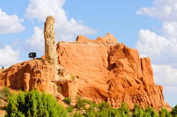 Chimeny rock in Kodachrome Basin State Park