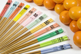 Chinese Zodiac Chopsticks and Mandarin Oranges