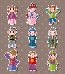 chinese people stickers