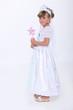 Little girl dressed as a fairy princess