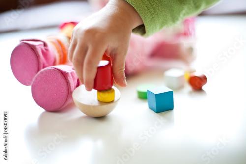 Nahaufnahme Spielzeug - 45078912