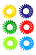 Colorful Spiral Elastic Hair Ties
