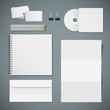 Set of corporate identity templates
