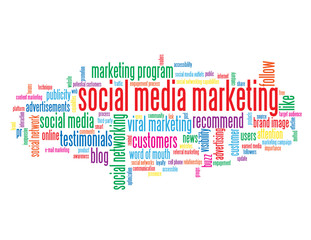 """SOCIAL MEDIA MARKETING"" Tag Cloud (viral smm social networking)"
