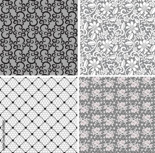 Aluminium Kunstmatig net lace set