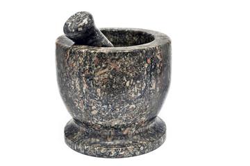 Granite mortar and pestle