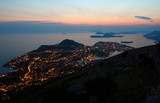 Evening View Toward Dubrovnik and the Dalmatian coast