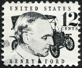 Fototapety UNITED STATES OF AMERICA - 1968: shows Henry Ford (1863-1947)