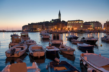 Harbor of Rovinj