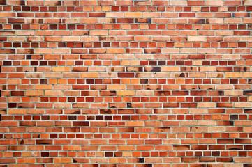 Ziegelmauer: Blockverband mit zwei Läuferschichten
