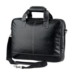 Elegance leather computer bag or brief case