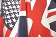 Drapeaux anglais et américain