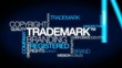 Trademark TM branding registered copyright tag cloud video