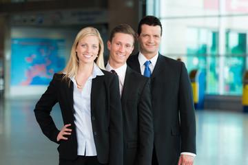 Engagierte Business-Gruppe